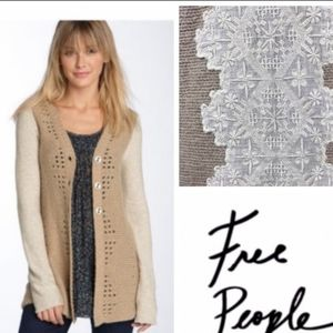 Free People Open Cardigan sweater